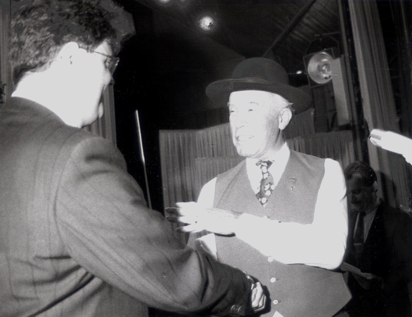 Dirigentenwechsel von Josef Asal an Bernhard Lickert - Oktober 1991